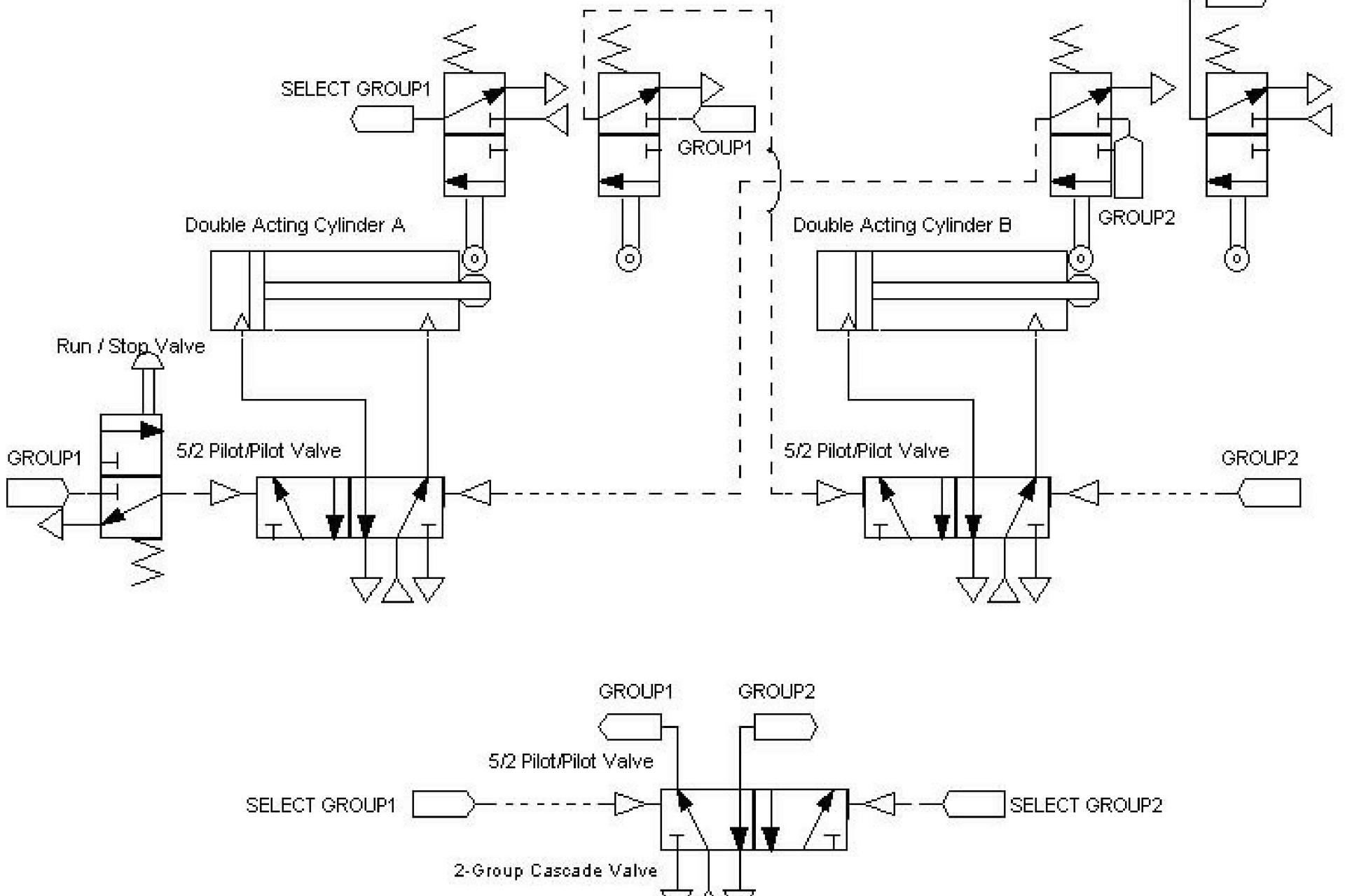 Pneumatic Control Circuit Design
